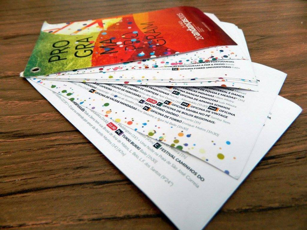 Andancas 2015 Programme