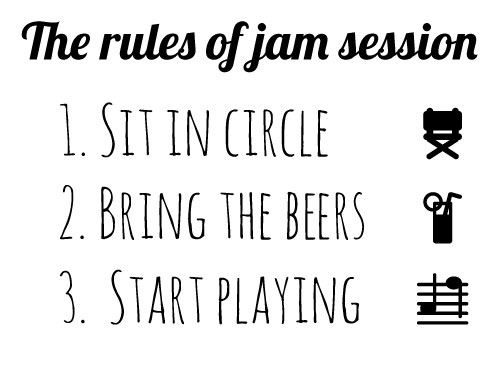 The rules of jam session