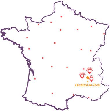 Petite carte de France