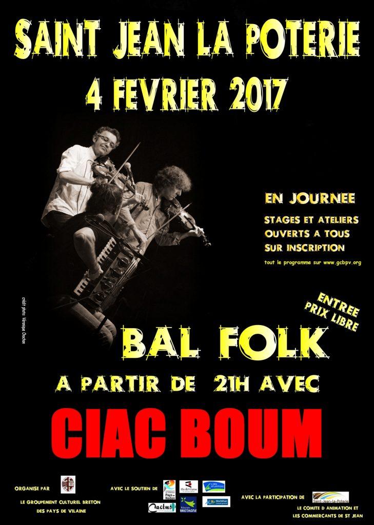 Bal folk avec Ciac Boum