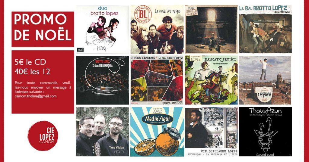 Et BIM ! 6 albums de Brotto-Lopez au pied du sapin !!