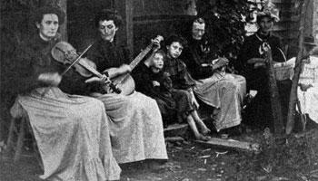 Femmes musiciennes trad/folk