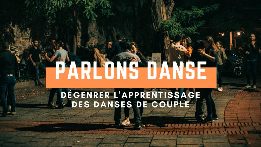 Parlons danse - Dégenrer l'apprentissage des danses de couple -11 octobre 2020