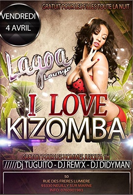 Kizomba Flyer