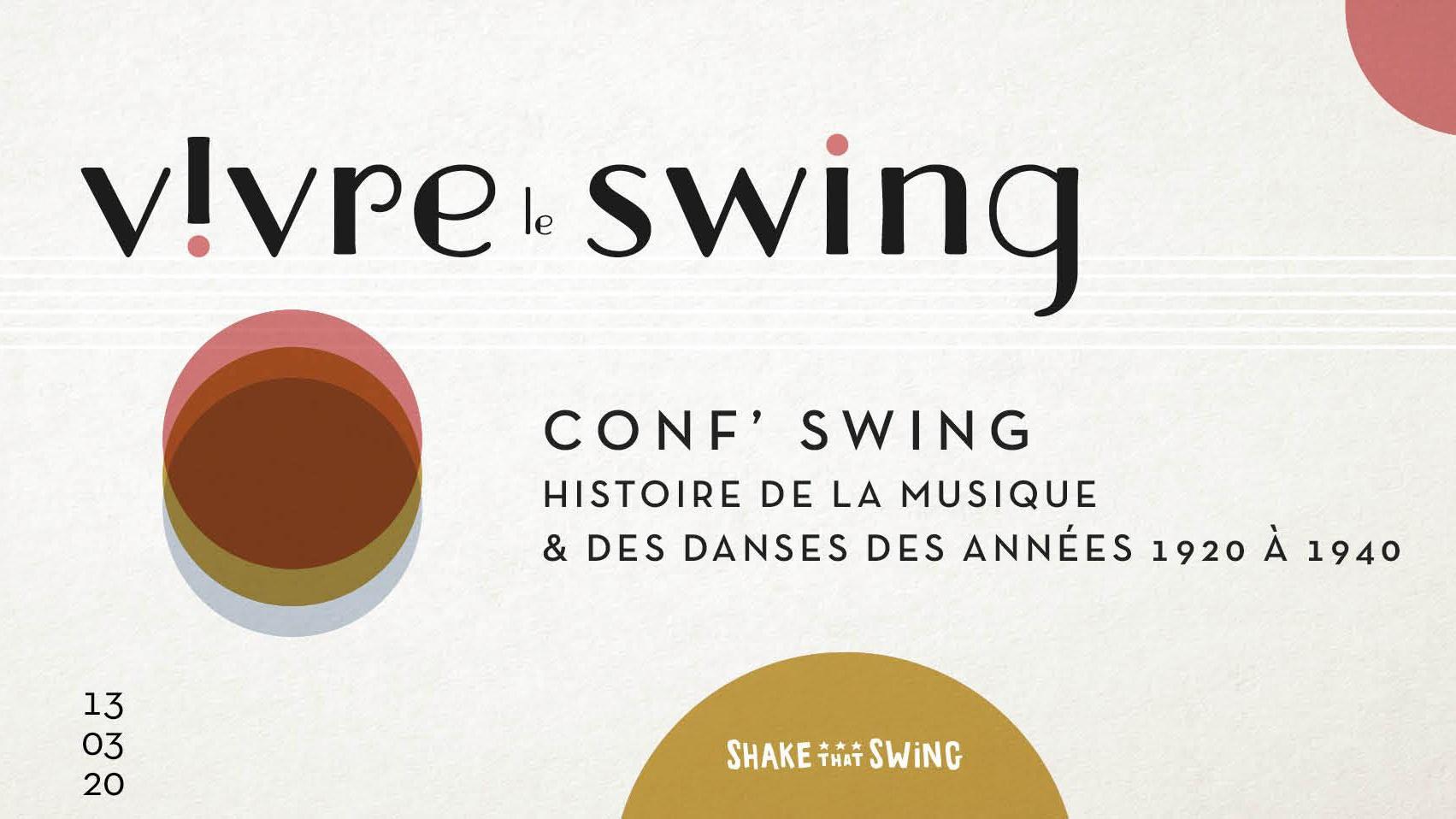 Conf'Swing de Shake that swing
