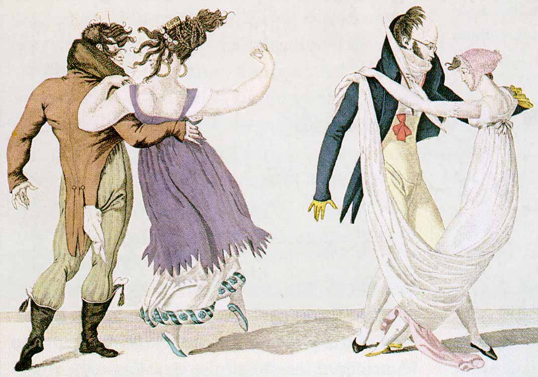gillray anonyme la walse