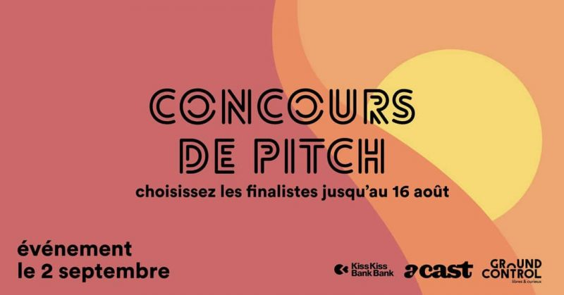 Podcast - concours de pitch de Ground Control