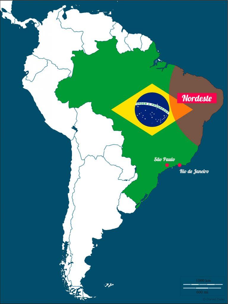 Nordeste du Brésil